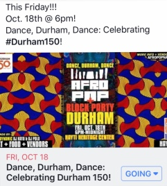 Durham Block Party