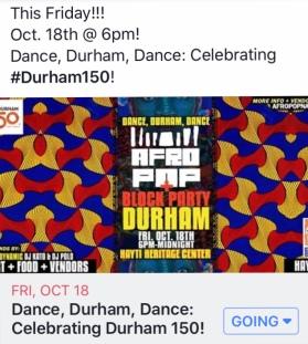 Durham Block Party
